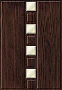 16 - Квинта «акация»,«ваниль глянец»,  любое сочетание цветов,  вклейка материалов (стекло, пластик и т.д.)