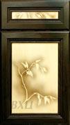 Сакура рамка «Сорренто» акация, плоская филенка, ясень
