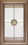 Фасад с витражным стеклом