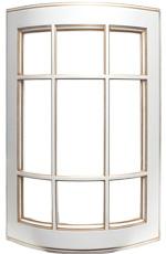 Афина фасад закругленный под стекло (с решеткой)
