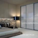 Встроенная мебельБелая спальня