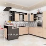 Кухня угловая. Модель 23