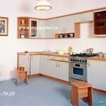 Кухня эконом угловая.  Модель 24