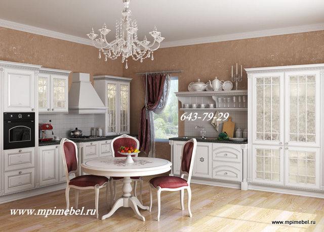 Мебель на кухню белая