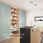 Шкаф на кухнюСкладные двери