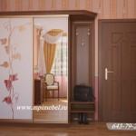 Шкафы с пескоструйным рисунком