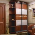 Шкаф купе комбинированные двери