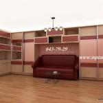 Мебель на заказ Вставки кожа