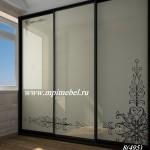 Встроенные шкафы стекло