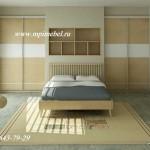 Встроенные шкафы купе в спальню