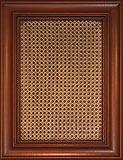 сборный фасад МДФ «Гранада» с патинированием, рамка «дикая яблоня», филенка с ратанговой вставкой с патинированием, пленка «бук» , возможно сочетание любых цветов