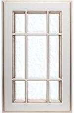 фасад под стекло (с решеткой)