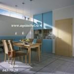 Встроенный шкаф  кухня