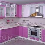 Кухня эконом Классик фламинго