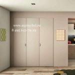 Встроенный шкаф                гармошка